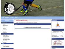 Tablet Preview of hockeyclubnunspeet.nl